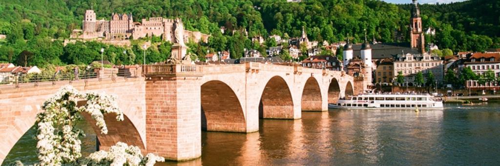 Neckarfahrt Weiße Flotte Heidelberg
