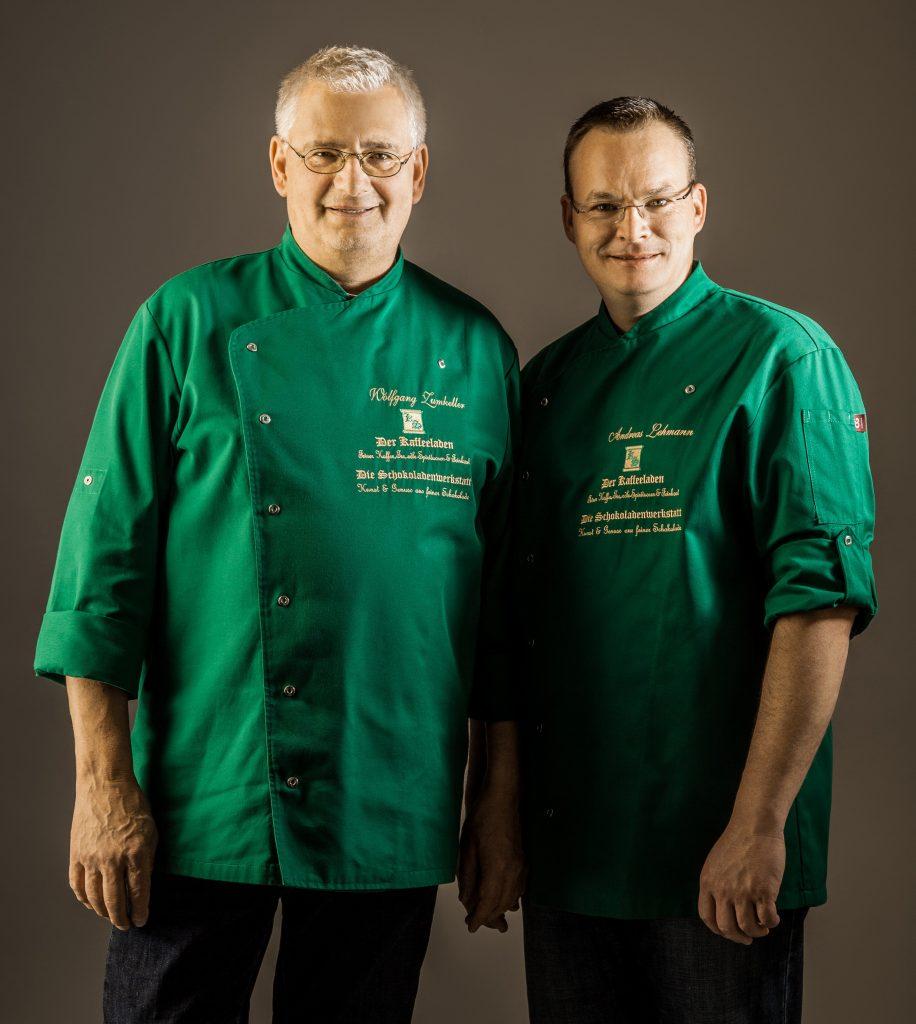 Immer eine gute Beratung: Herr Zumkeller und Herr Lehmann