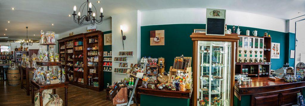 Im Schlaraffenland: Der Kaffeeladen hat ein riesiges Angebot